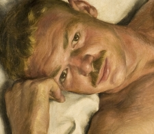 detail, Paul Cadmus, Jerry, 1931, Oil on canvas, 1931. 20 x 24 in. Toledo Museum of Art, Toledo, Ohio
