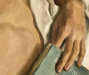detail, Paul Cadmus, Jerry, 1931, Oil on canvas, 1931. 20 x 24 in. Toledo Museum of Art, Toledo, Ohio