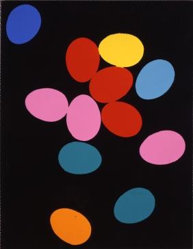 Andy Warhol Eggs, 1982 Synthetische Polymere und Siebdruckfarbe auf Leinwand 228,6 x 177,8 cm