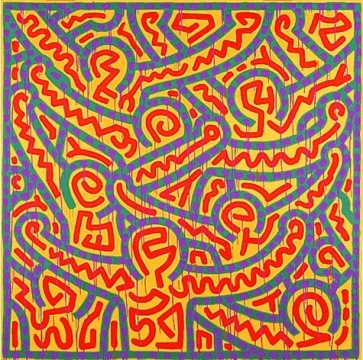 Untitled, 1989 ©Keith Haring Foundation