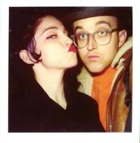 Madonna and Keith, 1989 by Maripol ©Maripol