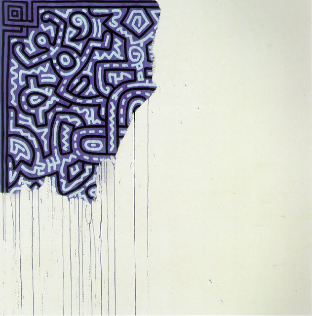 """Unfinished Painting"", 1989 ©Keith Haring Foundation"