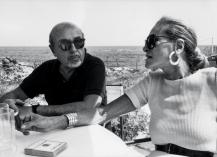 ahmet ertegun & Nan Kempner 1988
