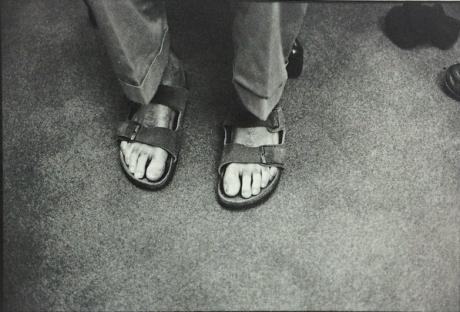 Steve Jobs' Birkenstocks. 1984