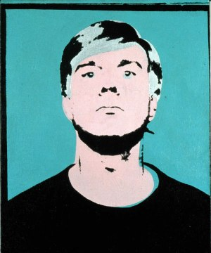 Self-portrait 1964 ©AWF