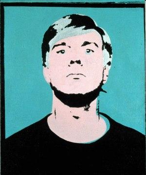 Self-portrait 1964 ©AWF