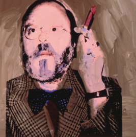Henry Geldzahler, 1973-1974 ©AWF