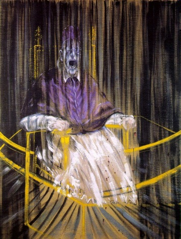 Study after Velázquez's Portrait of Pope Innocent X, 1953 © Estate of Francis Bacon
