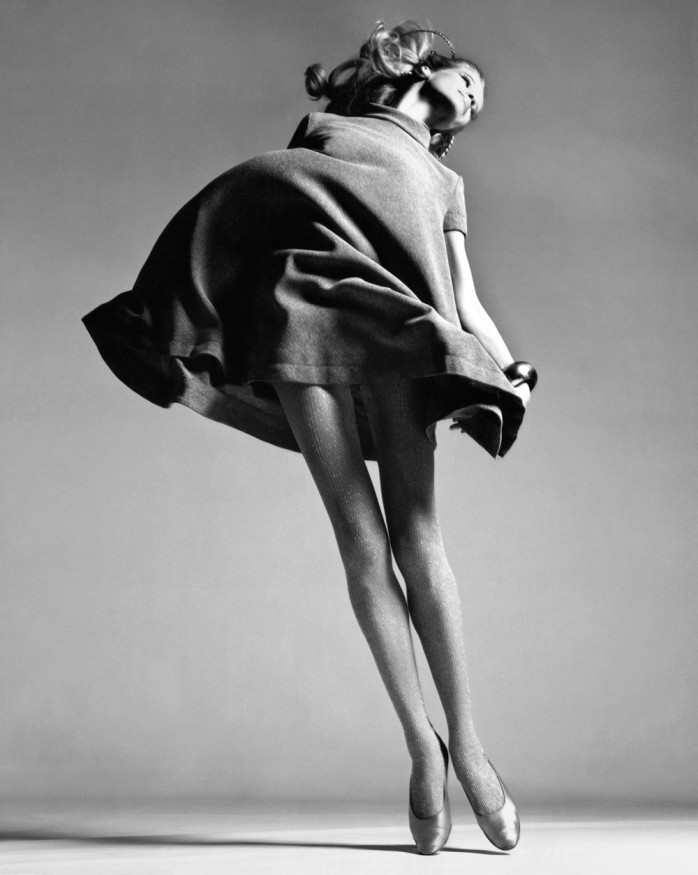 Richard Avedon, Veruschka, dress by Bill Blass, New York, January 4, 1967.© Richard Avedon Foundation